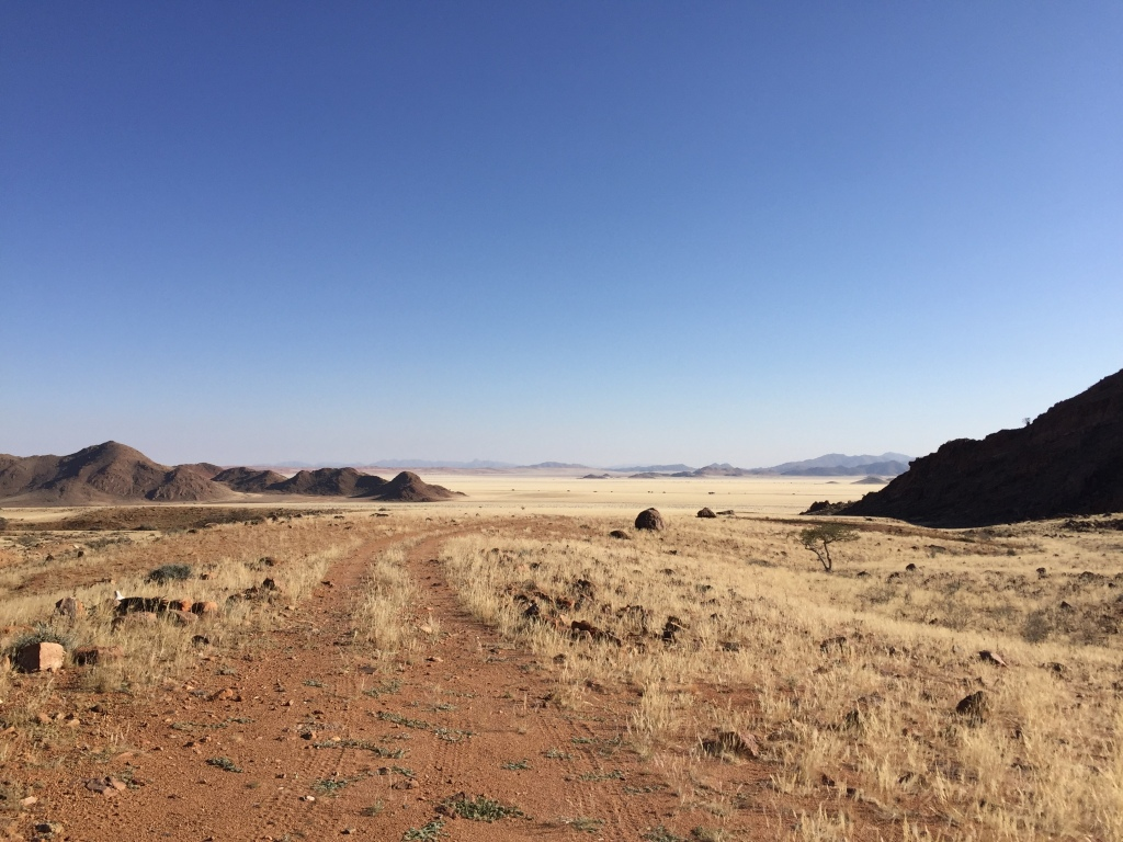 Experiencing Namibia's breath-taking landscape