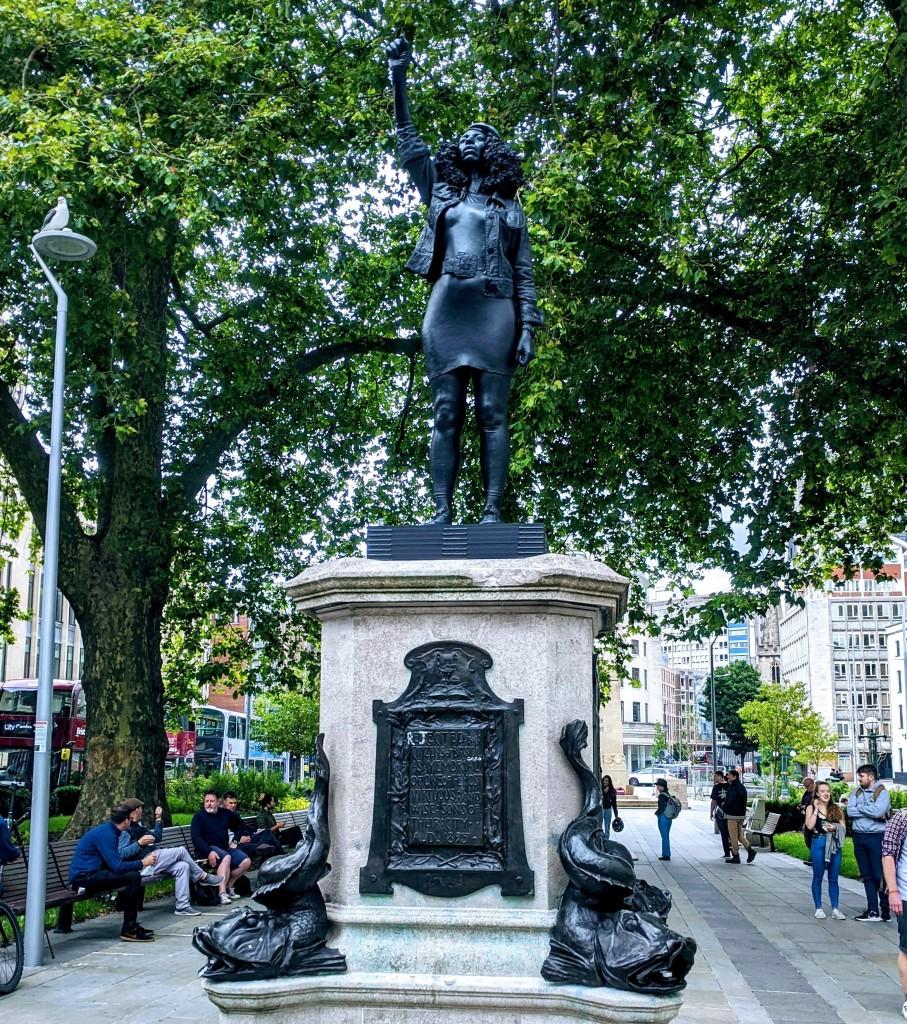 Jen Reid statue, to replace historic figure of Edward Colton