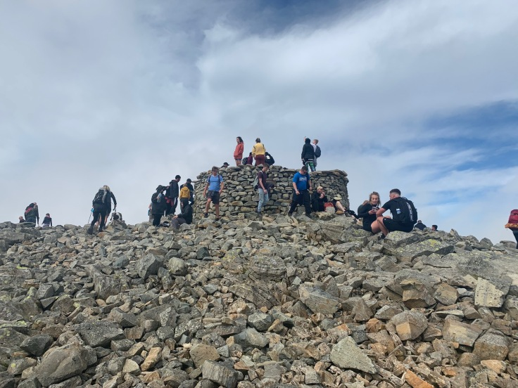 Image from climbing Scafell Pike peak