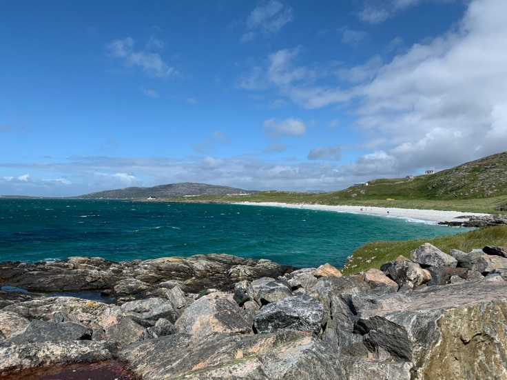 View of Eriksay beach, Outer Hebrides