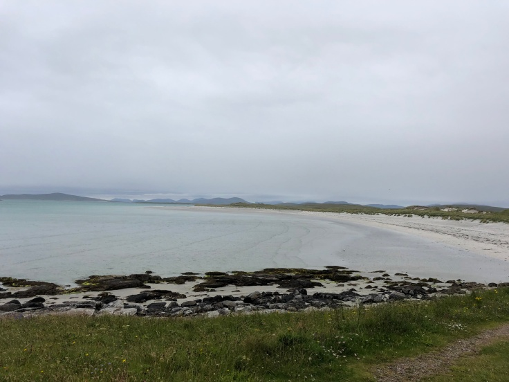 North Uist beach, from our 'staycation' roadtrip wandering the British Isles