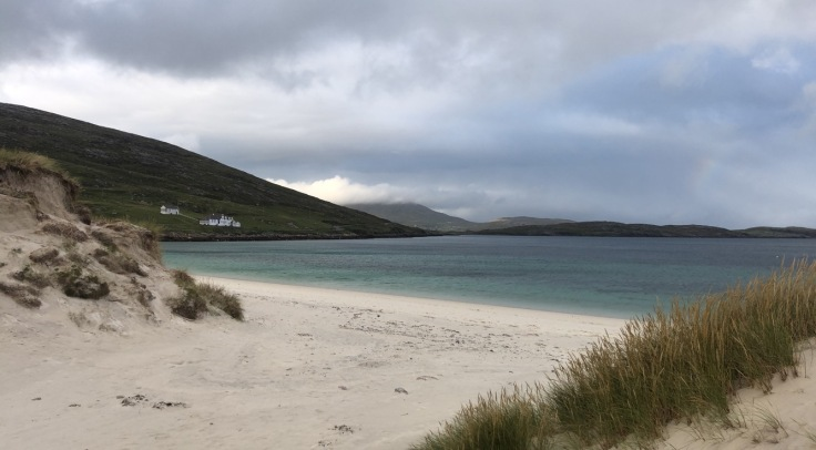 Vatersay beach, from our 'staycation' roadtrip wandering the British Isles