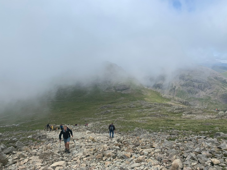 Image from climbing Scafell Pike