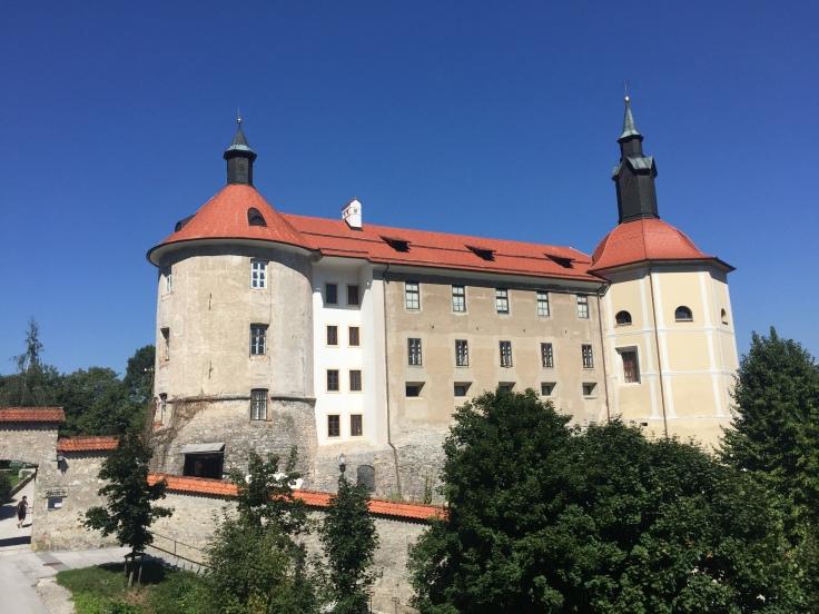 Skofja Loka's Church of St. Cross from Slovenia tour