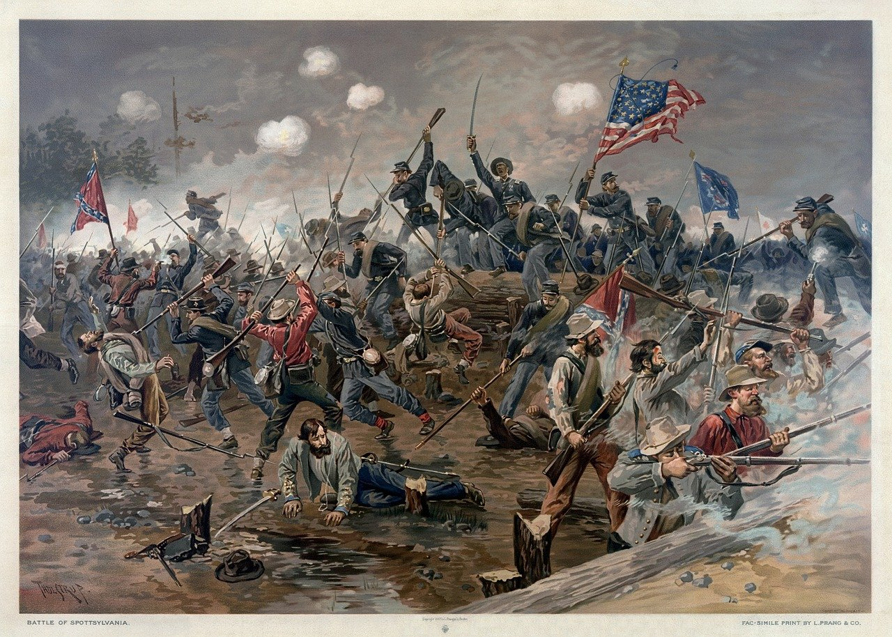 Image of US Civil War soldiers