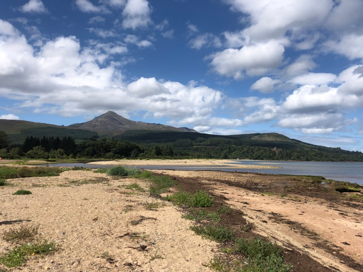 Goatfell, Isle of Arran, from our 'staycation' roadtrip wandering the British Isles