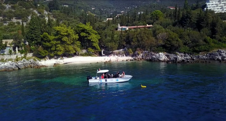 Feature image for learning to scuba dive in Corfu post
