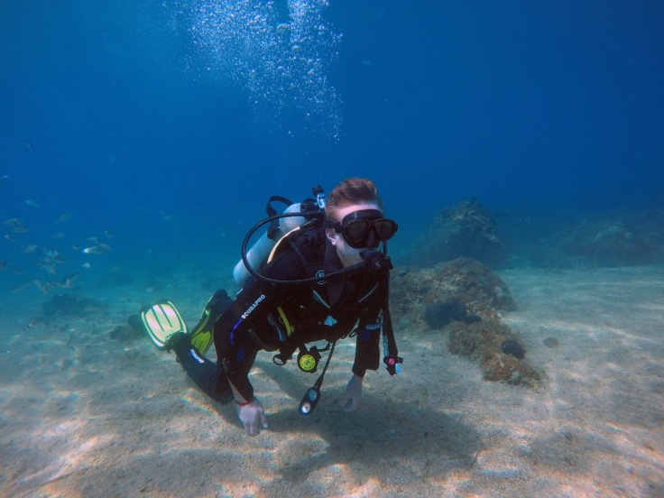 Learning how to Scuba Dive in Corfu