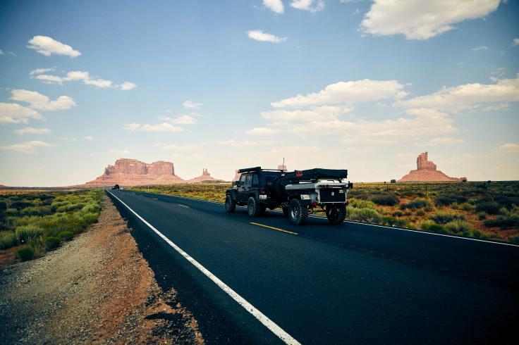 US road trip displaying holiday bucket list