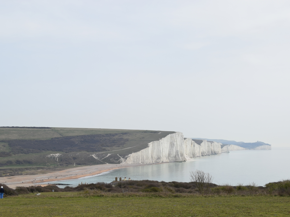 Cuckmere Haven beach feature image