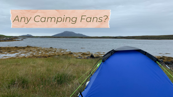 Tales from a Tent - a new camping in the UK page